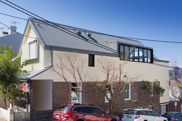 Evans St Rozelle - Corrugated Roofing Projects
