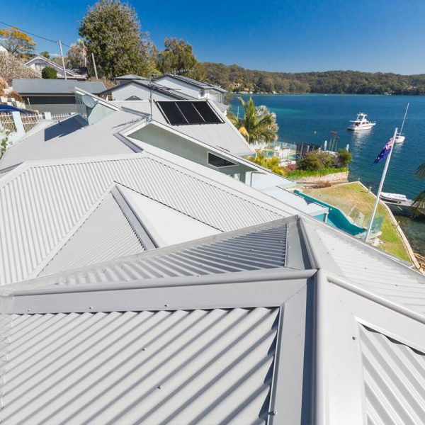 Swan St - Lilli Pilli - Corrugated Roofing Projects